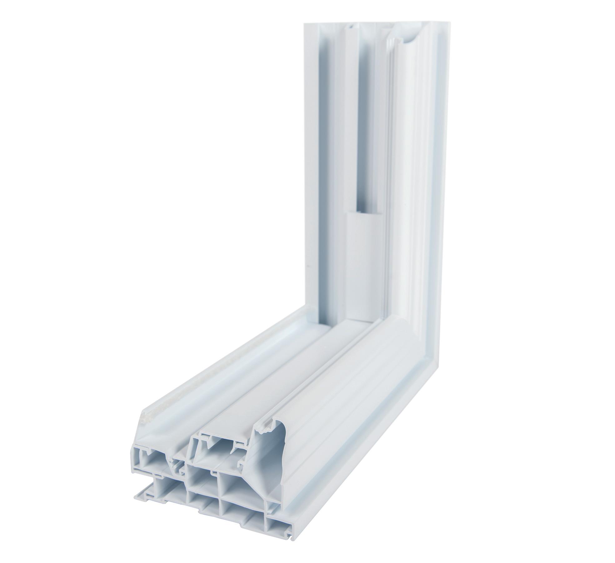 Fenetre Guillotine En Pvc A Volet Simple Ou Double Fenetres Concept Manufacturier De Portes Et Fenetres