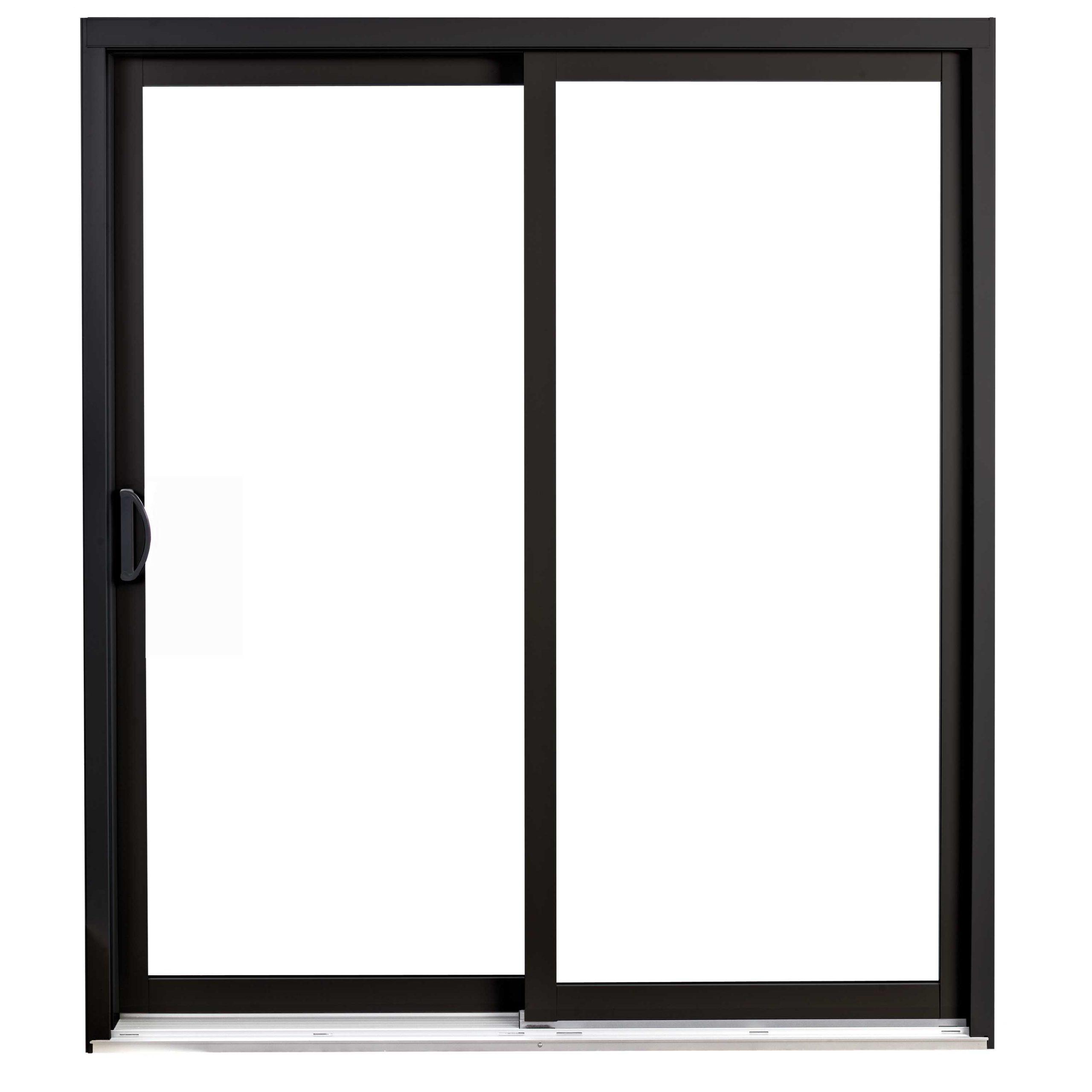 Porte Patio d'aluminium et PVC